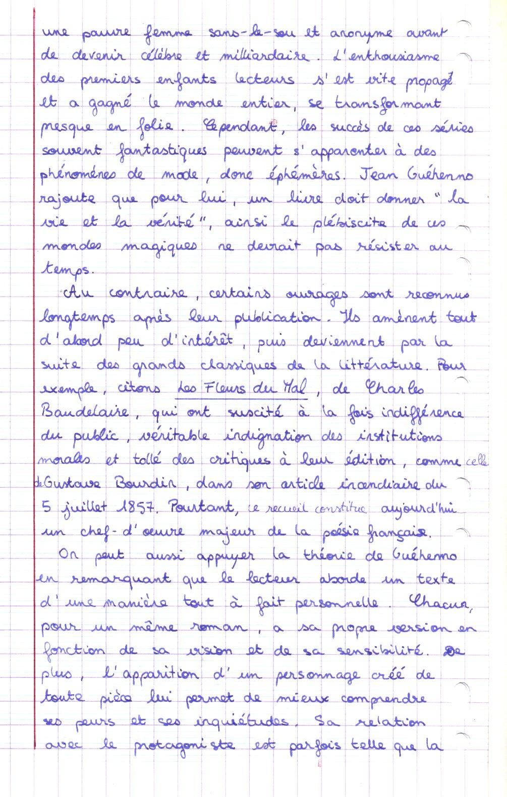 Dissertation Les Femmes Savantes